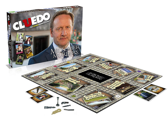 Cluedo - Midsomer Murders Board Game