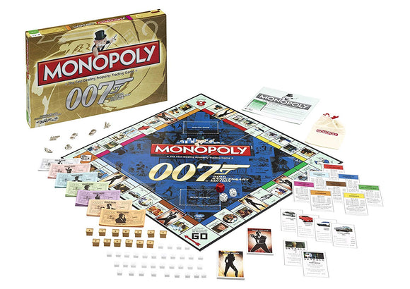 James Bond Monopoly Board Game