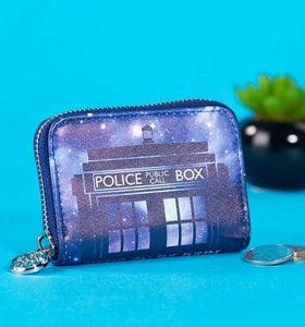 Doctor Who Tardis Coin Purse