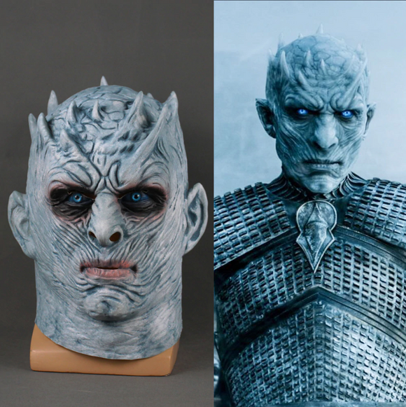 Game of Thrones Night King White Walker Mask