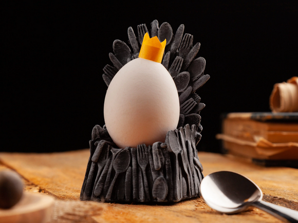 Iron Thrown Egg Cup