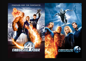 Fantastic Four DVD Movie Box Set