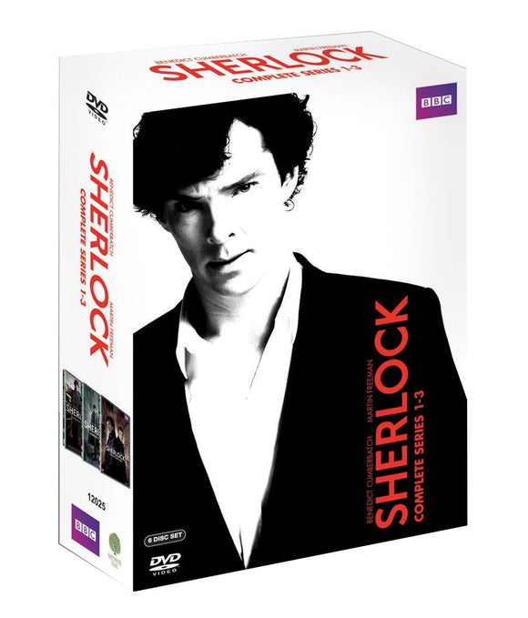 Sherlock - Series 1-3 DVD Box Set