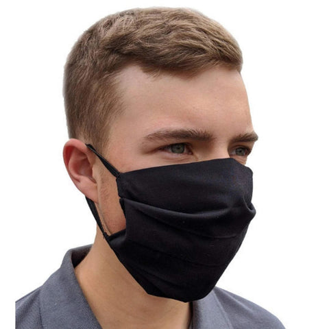 Large Face Mask - Reusable & Washable with Cotton Blend Fabric