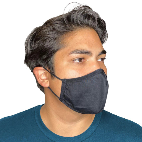 Adjustable Face Mask - Reusable & Washable with Cotton Blend Fabric