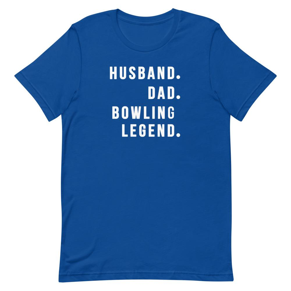 Bowling Legend Shirt That Is So Dad True Royal S