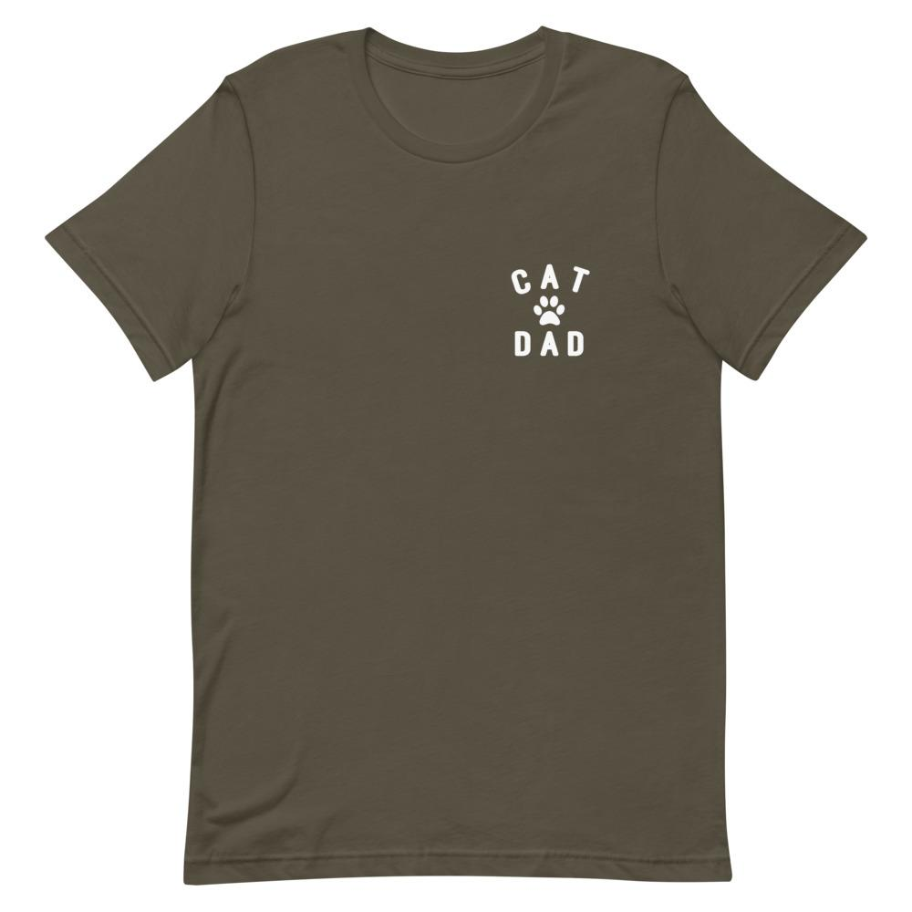 Cat Dad Pocket Tee That Is So Dad Army S