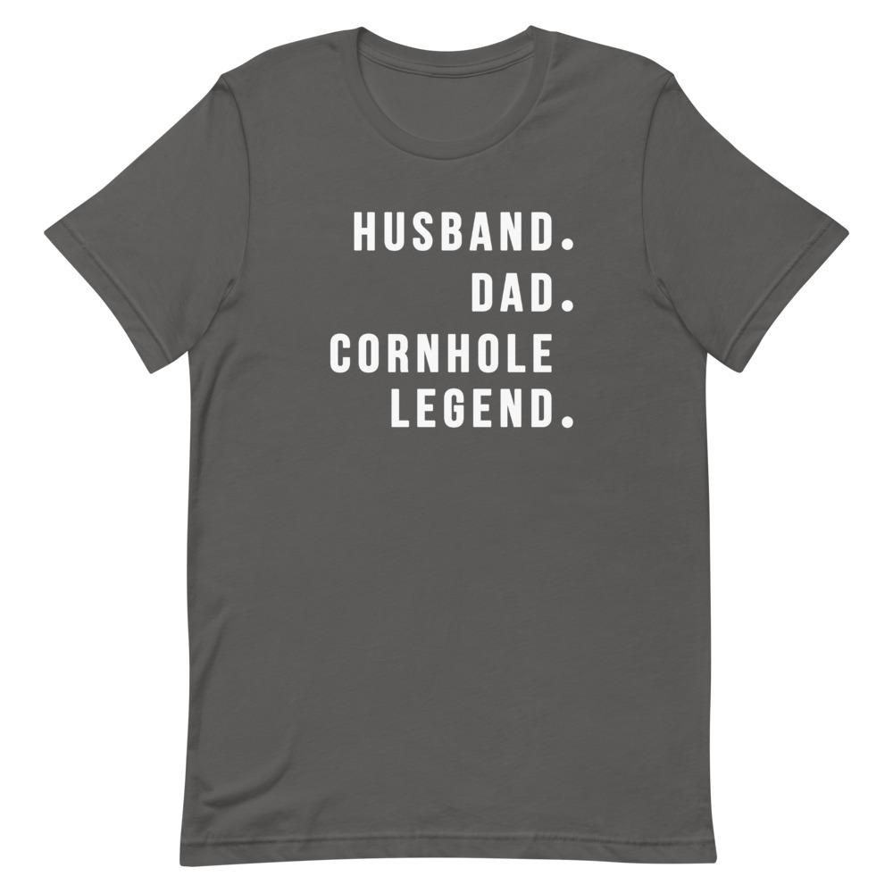 Cornhole Legend Shirt Clothing That Is So Dad Asphalt S
