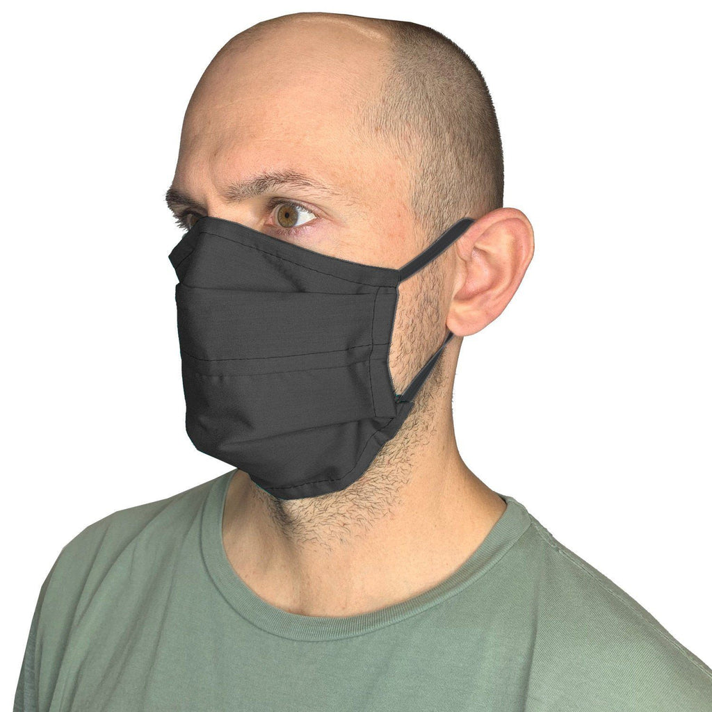 XL Face Mask- Reusable & Washable with Cotton Blend Fabric Face Mask Square Up Fashions Black 1 Individual