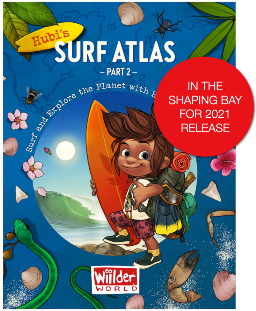 Load image into Gallery viewer, Hubi's Surf Atlas - part 2