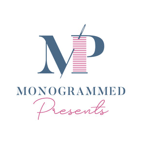Monogrammed Present Gift Card