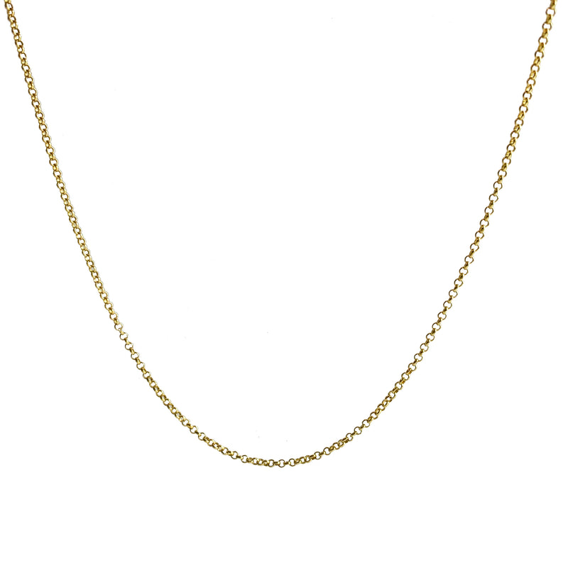 Love Charlie 10K Gold Chain Necklace