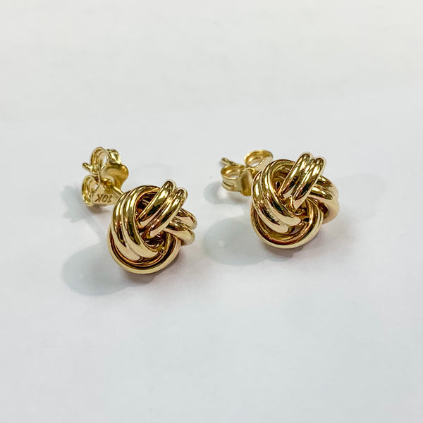 Bold Love Knot Earrings