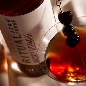 Ritual Zero Proof Whiskey Manhattan