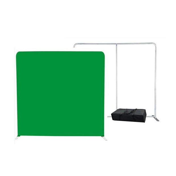 Greenscreen Tension Fabric Photobooth Backdrop Kit - ATAPHOTOBOOTHS, USA