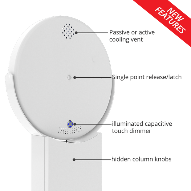 Helio V2 iPad Ringlight Photobooth - ATAPHOTOBOOTHS, USA