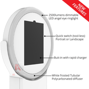 Factory Direct - Helio V2 ipad Ringlight Photobooth - ATAPHOTOBOOTHS, USA