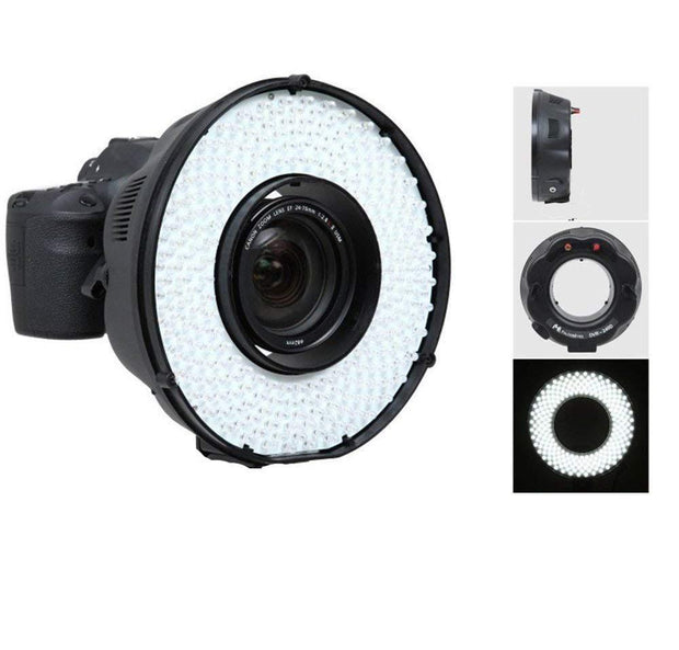 DVR-240DF LEDs Ringlight Flash - ATAPHOTOBOOTHS, USA
