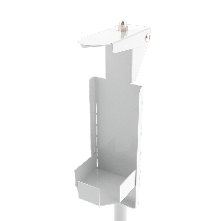 Hygienic mechanical foot pedal operated hand sanitizer dispenser - ATAPHOTOBOOTHS, USA