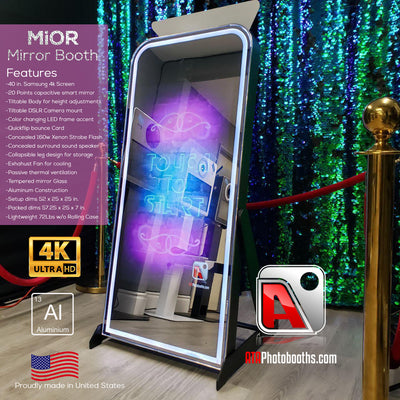 Mior Mirror Booth Package Labor Day Sale - ATAPHOTOBOOTHS, USA