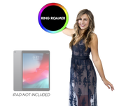 "Ring Roamer 10.5"" V2 (Button Controlled) Factory Direct Pricing - ATAPHOTOBOOTHS, USA"