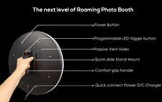 Ring Roamer V2 mobile iPad roaming Photo Booth - ATAPHOTOBOOTHS, USA