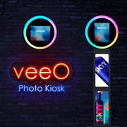 VeeO iPad Ringlight Photo Booth DIY Shell - ATAPHOTOBOOTHS, USA