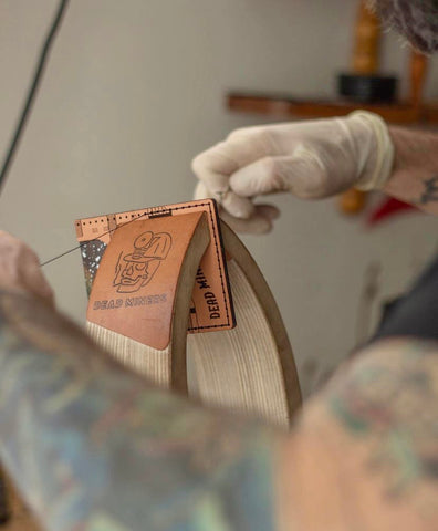 Leather goods from Dead Miners Handmade Goods