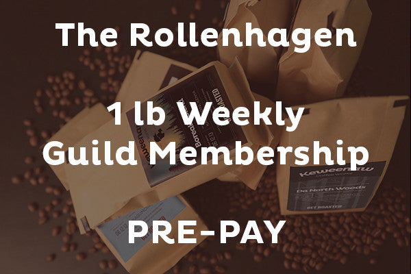 The Rollenhagen: Weekly Guild Membership - PREPAY for 4 Weeks