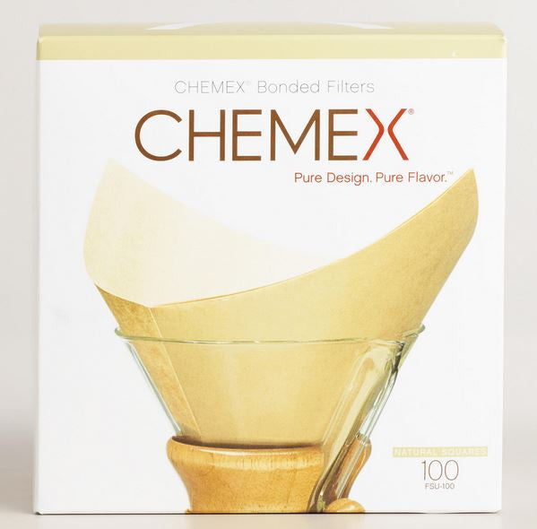CHEMEX® Pre-folder Square Filters (Natural)