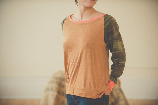 Women's Slouchy Long Sleeve