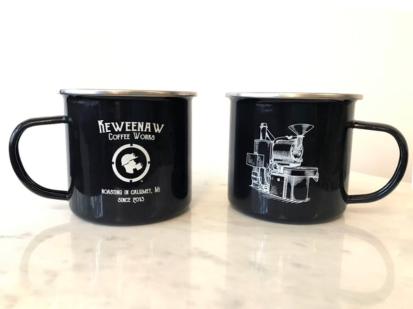 16 oz Stainless Steel Camp Mug
