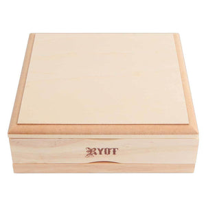 RYOT® 7x7 Solid Top Screen Box - Natural
