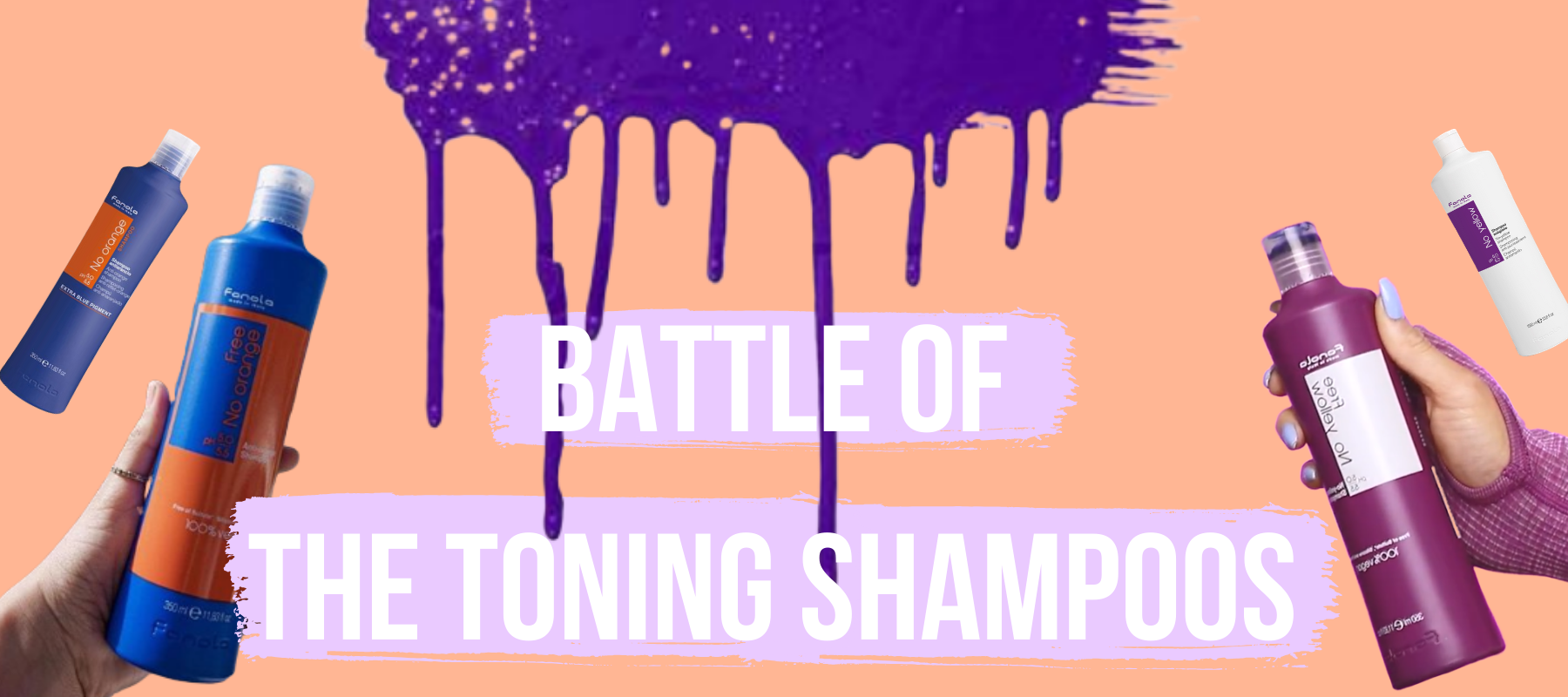 Battle Of The Toning Shampoos
