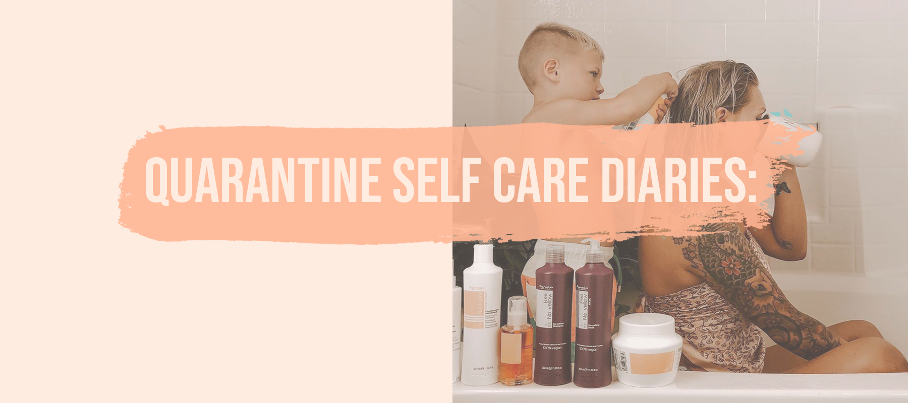 Quarantine Self Care Diaries: 4 Ways to Care for your Hair at Home!
