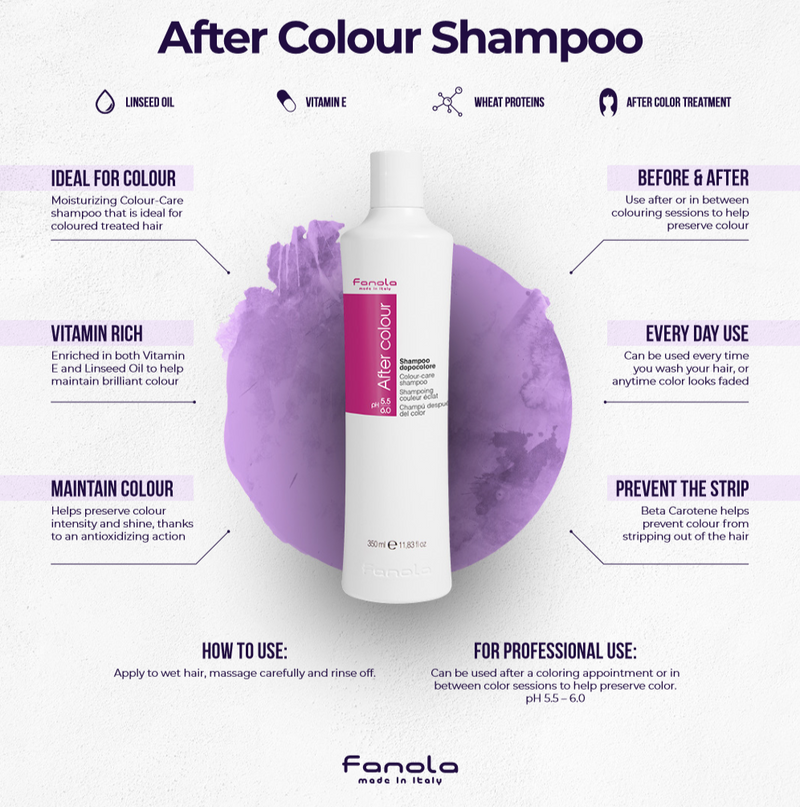 After Color Treatment Shampoo