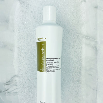 Curly And Wavy Hair Shampoo