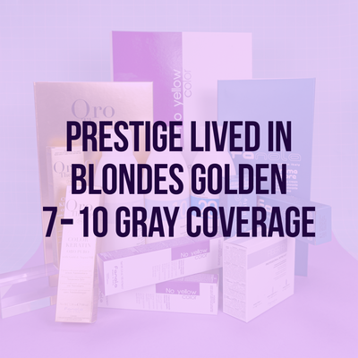 Lived In Blondes Golden 7-10 Gray Coverage