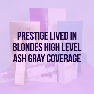 Lived In Blondes High Level Ash Gray Coverage