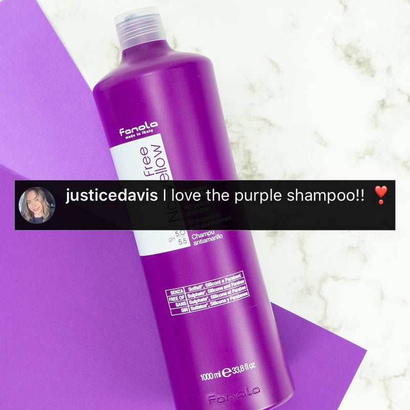 No Yellow Vegan Purple Shampoo + Mask  Duo