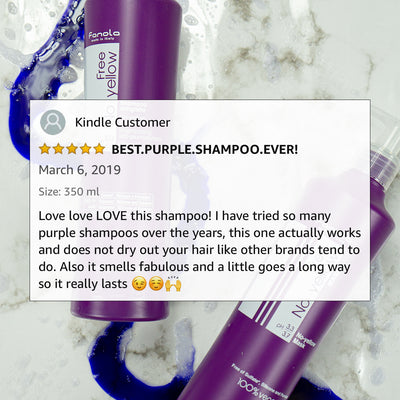 No Yellow Vegan Purple Shampoo + Conditioner Duo