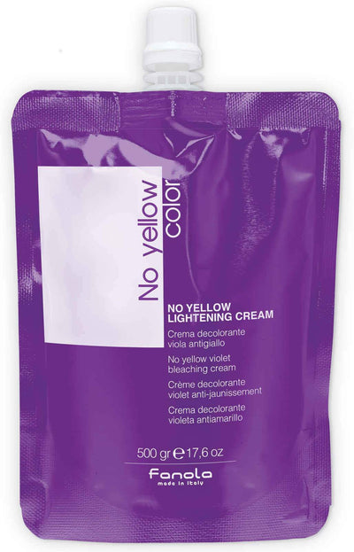 Fanola No Yellow Lightening Cream, 17.6 oz Hair Color Bleaches Fanola