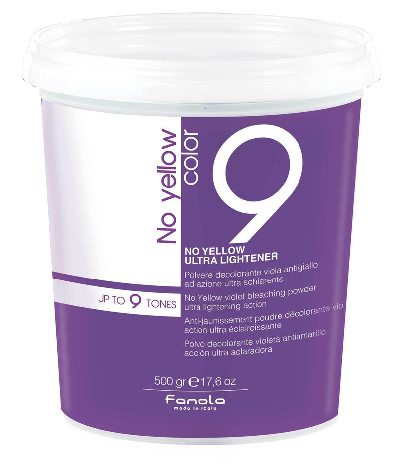 Fanola No Yellow Violet Lightening Powder Hair Color Bleaches Fanola