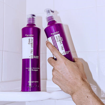Vegan No Yellow Purple Shampoo