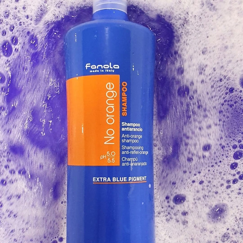 No Orange Blue Shampoo