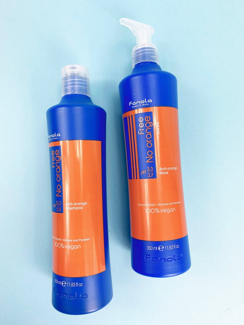 Vegan No Orange Brunette Toning Kit