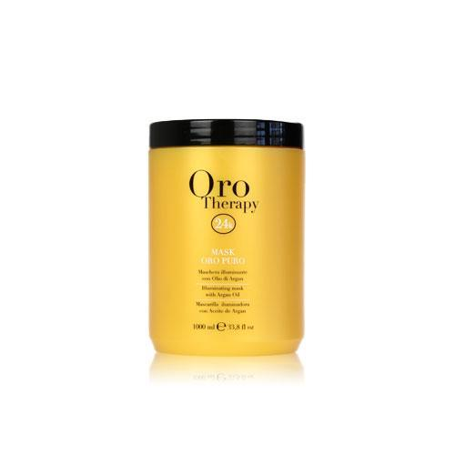 Fanola Oro Puro Illuminating Keratin Argan Mask Hair Treatments Fanola 300 mL