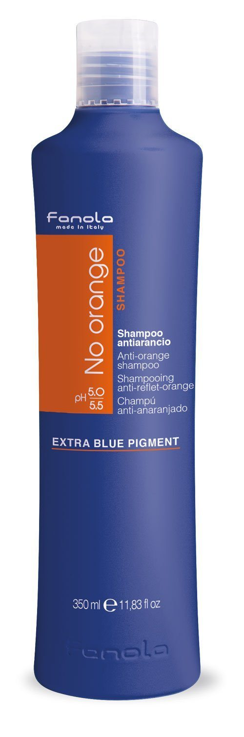 Fanola No Orange Shampoo or Mask Hair Shampoos Fanola Shampoo, 350 ml