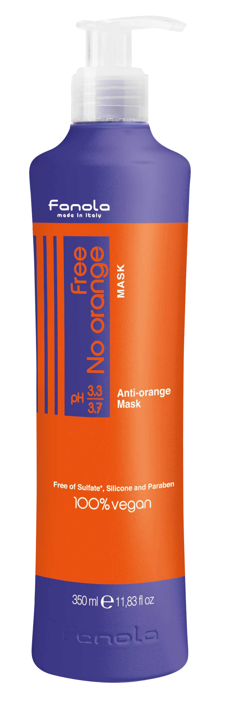 Vegan No Orange Mask