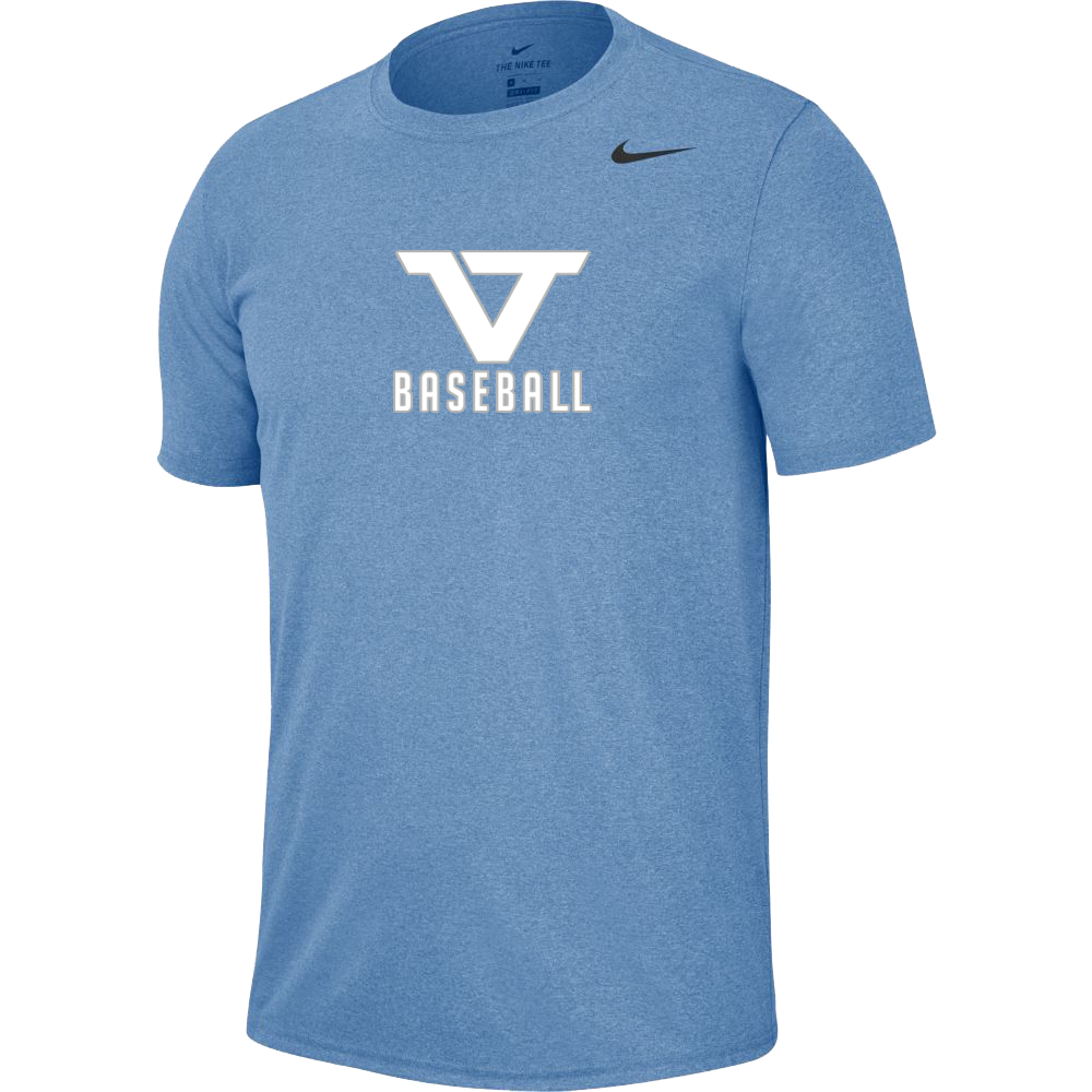 Carolina Blue 'Pro Style' Short Sleeve Legend Tee -WHT/SLV